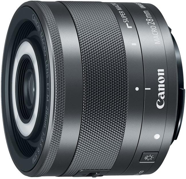 Объектив Canon EF-M 28mm f/3.5 Macro IS STM оценен производителем в $300