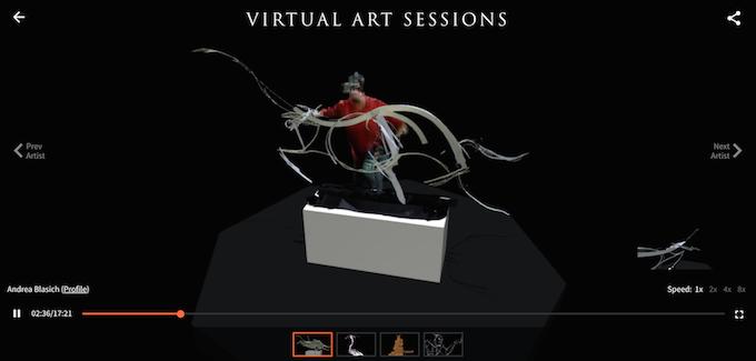 Virtual Art Sessions — рисование в трехмерном пространстве от Google - 2