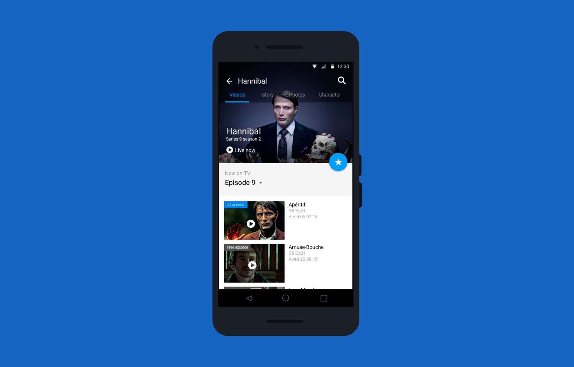 Лучший друг киномана: переделываем приложение CBS под Android - 4