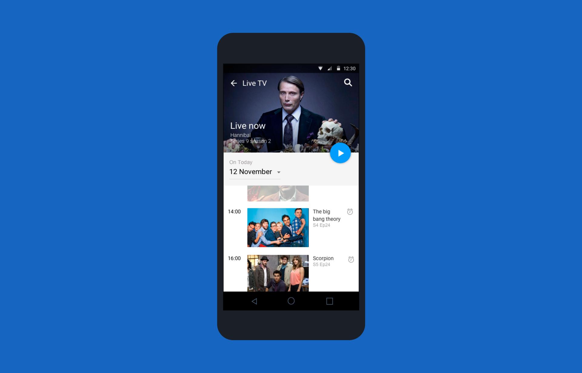 Лучший друг киномана: переделываем приложение CBS под Android - 6