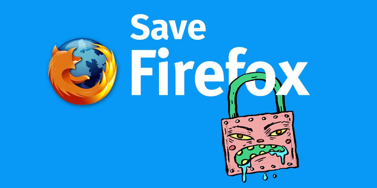 Спасём Firefox - 1