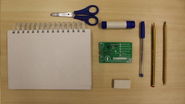 One Dollar Board: плата стоимостью в $1 для обучения детей и подростков основам электроники и программирования - 1
