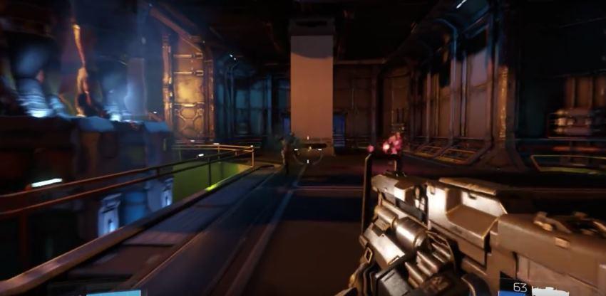 Уровень E1 M2 оригинального Doom воспроизвели в новом Doom IV - 1