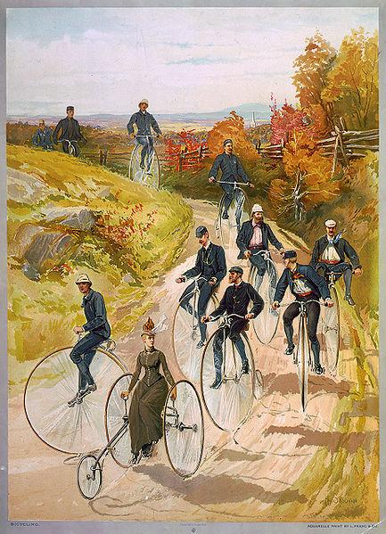 Человек, велосипед, гаджет — от истоков до современности - 5