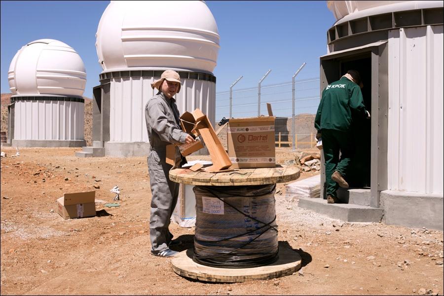 «Космонавты» в Чили: как мы делали всю ИТ-инфраструктуру для четырех телескопов в Андах - 1