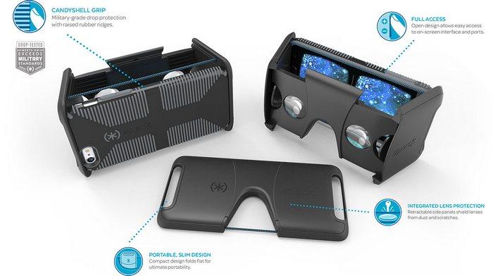 Аксессуар Pocket-VR для iPhone 6 и Samsung Galaxy S7 оценен в $70