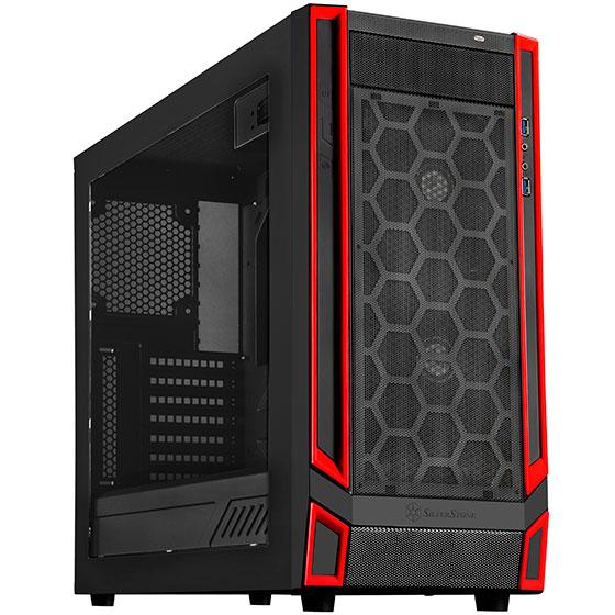 Корпус SilverStone Redline RL05 рассчитан на системные платы типоразмера microATX и ATX