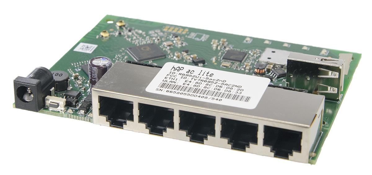 Переходим на 5 GHz домашнего интернета вместе с MikroTik hAP AC - 5