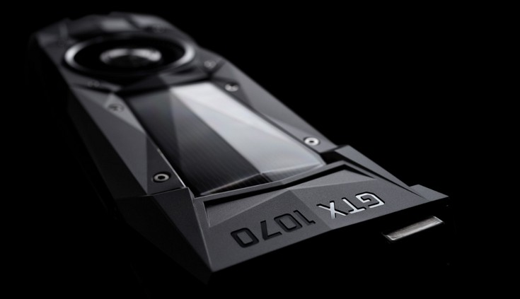 3D-карта GeForce GTX 1070 работает на частотах 1506/1683 МГц для ядра и 8000 МГц для памяти