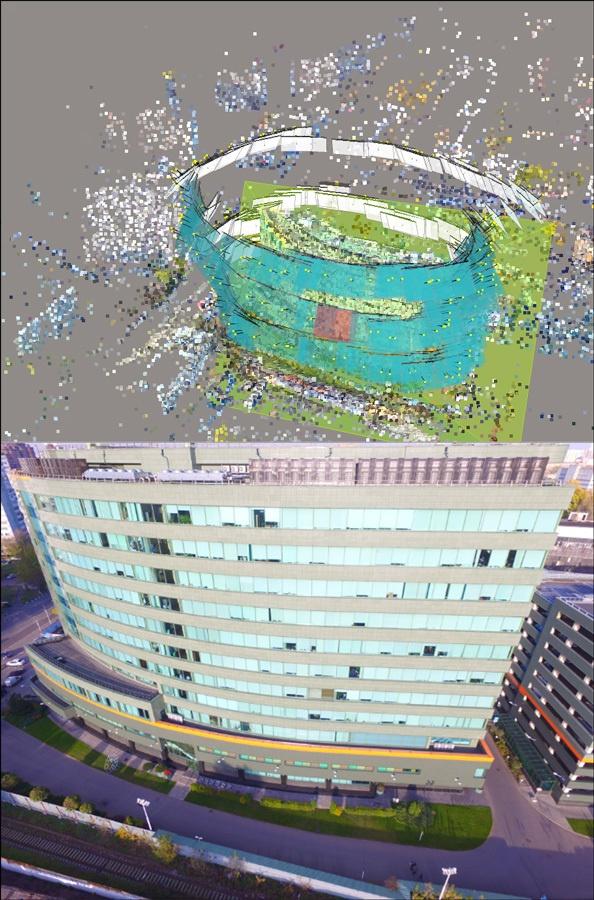 Разведка и инженерное дело: 3D-модели зданий, развязок и карьеров по фото - 1