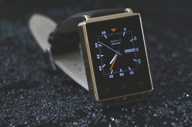 Умные часы No.1 D6 отличаются 1 ГБ оперативной памяти и ОС Android 5.1