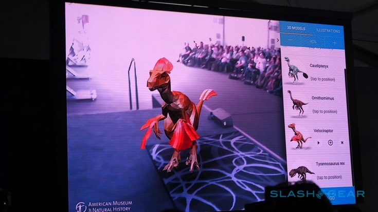 Tango станет частью ОС Android N