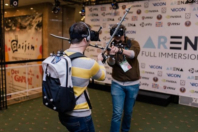 Российские разработчики ARena показали одноименную площадку виртуальной реальности