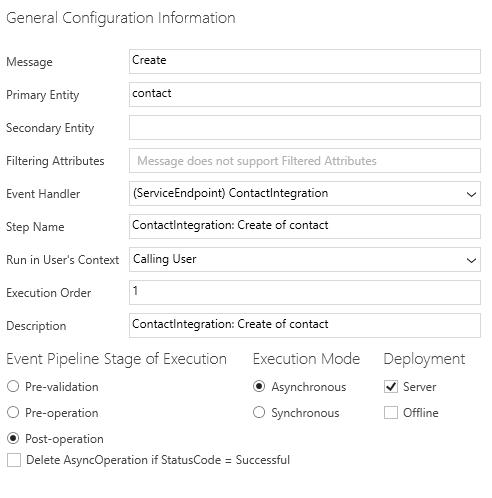 Интеграция двух тенантов Dynamics CRM Online при помощи Azure Service Bus и Azure Cloud Service - 11