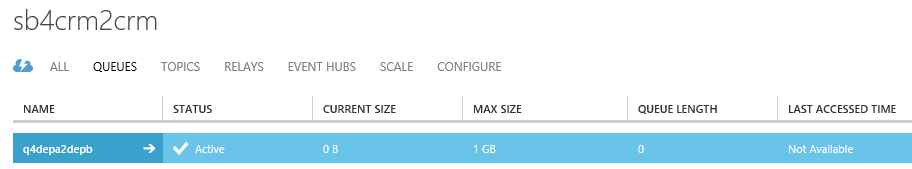 Интеграция двух тенантов Dynamics CRM Online при помощи Azure Service Bus и Azure Cloud Service - 2