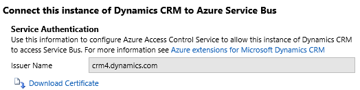 Интеграция двух тенантов Dynamics CRM Online при помощи Azure Service Bus и Azure Cloud Service - 9