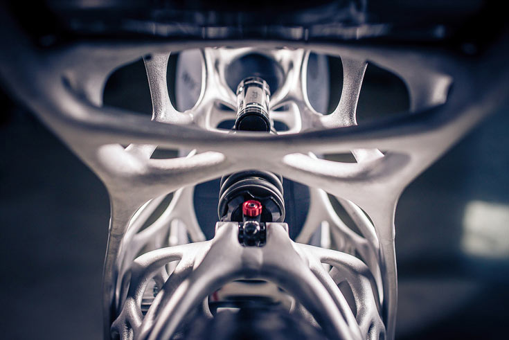 Мотоцикл Light Rider стоит 50 000 евро