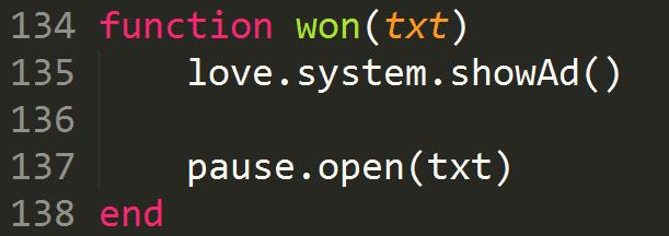 Вызываем Java код из Love2D - 1
