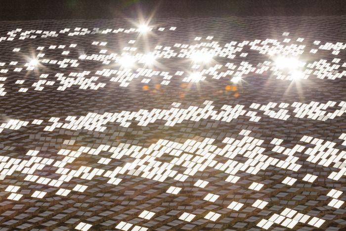 Неправильное позиционирование зеркал привело к пожару на крупнейшей термальной солнечной электростанции США - 3