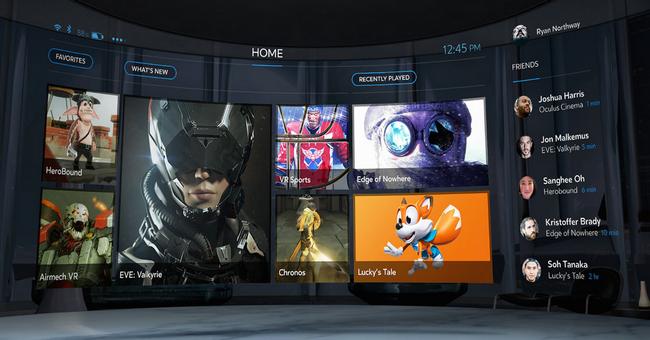 Контент магазин Oculus Store стал доступен только тем, у кого есть шлем Oculus Rift