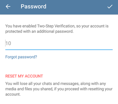 Почему двухфакторная авторизация в Telegram не работает - 8