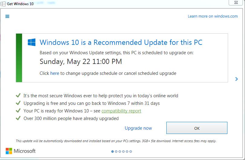 Microsoft критикуют за новый трюк с принудительной установкой Windows 10 - 1