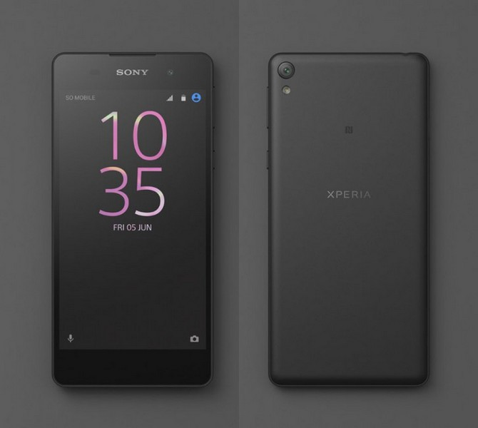 Смартфон Sony Xperia E5 будет выполнен в новом стиле