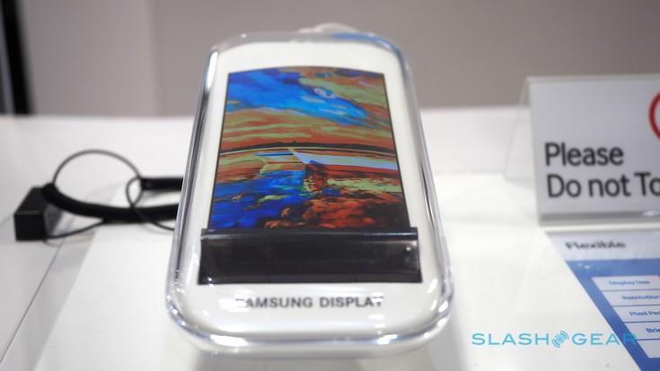Samsung продемонстрировала очередной прототип гибкого экрана
