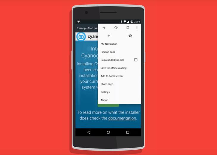 Браузер Cyanogen Gello вышел из стадии тестирования