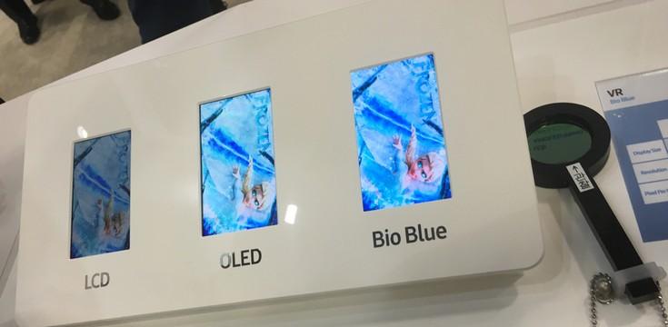 Samsung показала на Display Week 2016 новые разработки