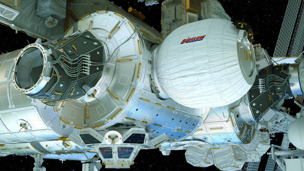 На МКС в прямом эфире разворачивают первый в истории станции надувной модуль [обновляется] - 1