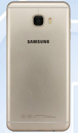 Изображения и характеристики смартфона Samsung Galaxy C7 опубликованы на сайте TENAA