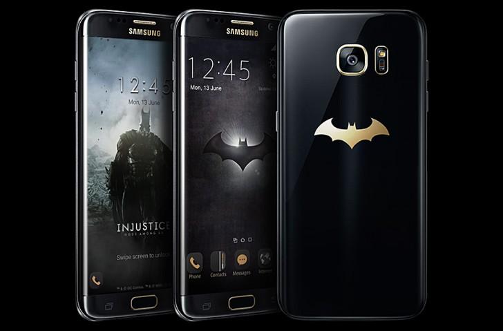 Смартфон Samsung Galaxy S7 edge Injustice Edition создан в сотрудничестве с Warner Bros. Interactive Entertainment