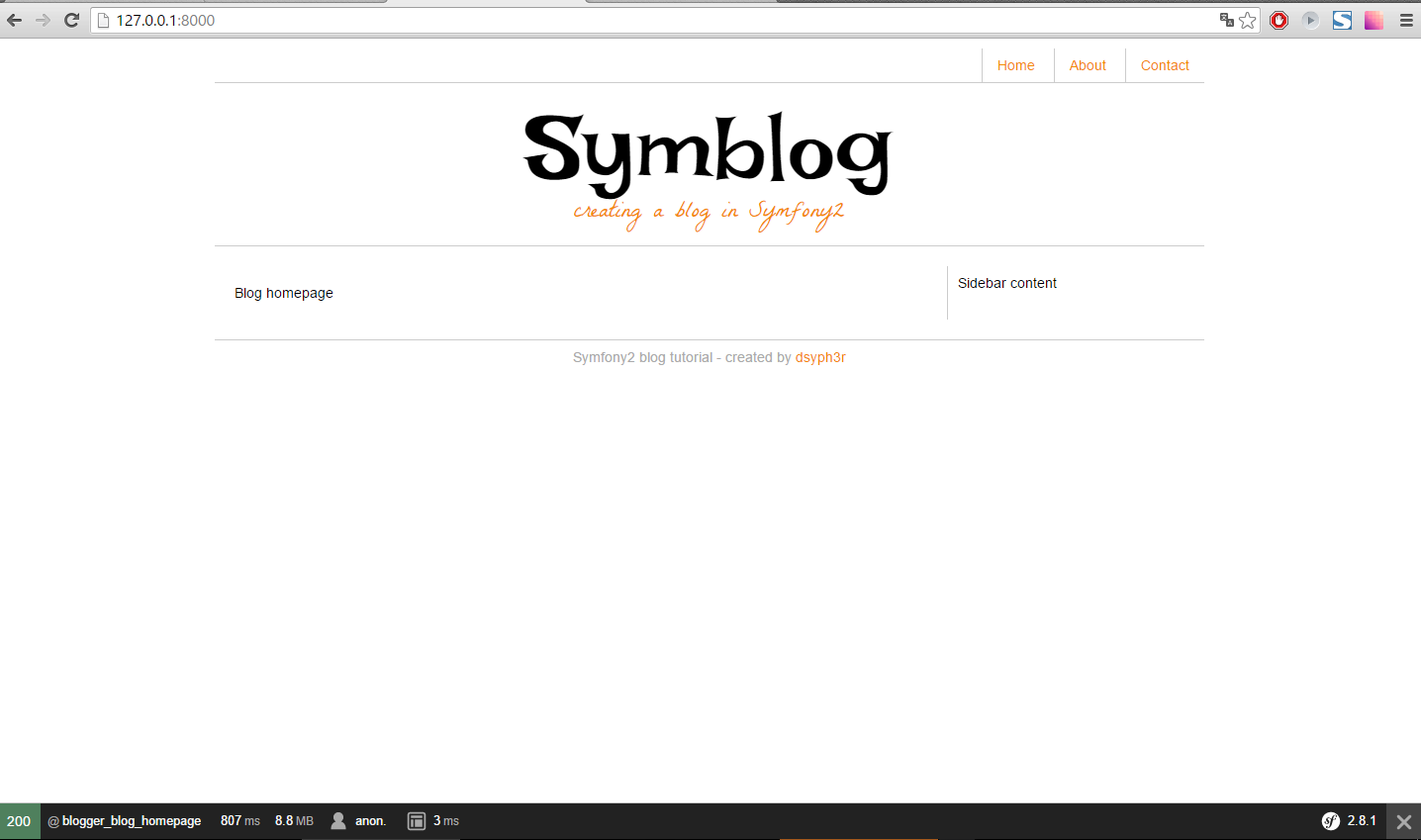 Создание блога на Symfony 2.8 lts - 10