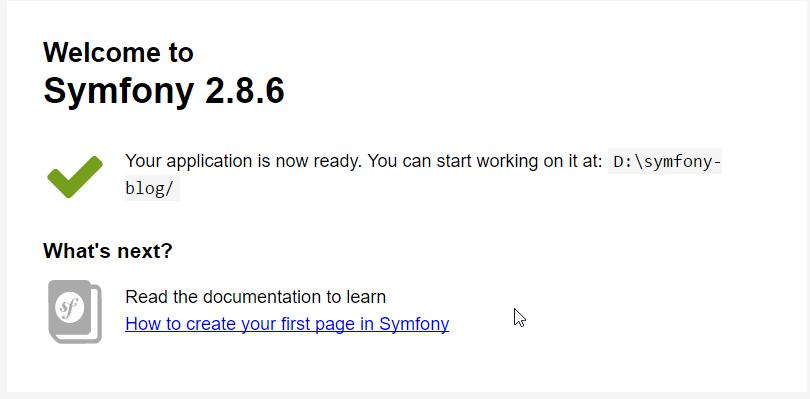 Создание блога на Symfony 2.8 lts - 7