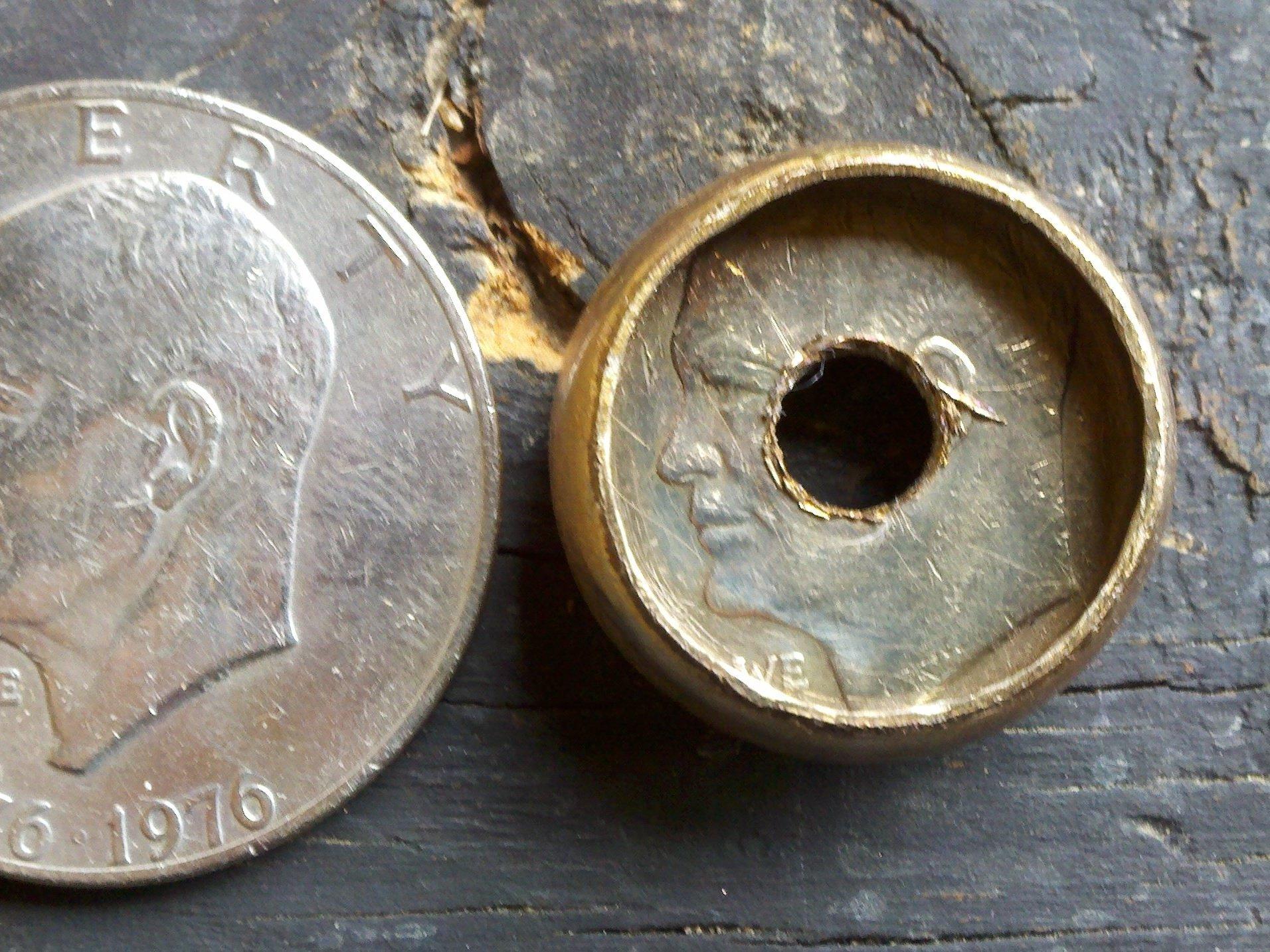 Делаем кольцо из обычной монеты - 3