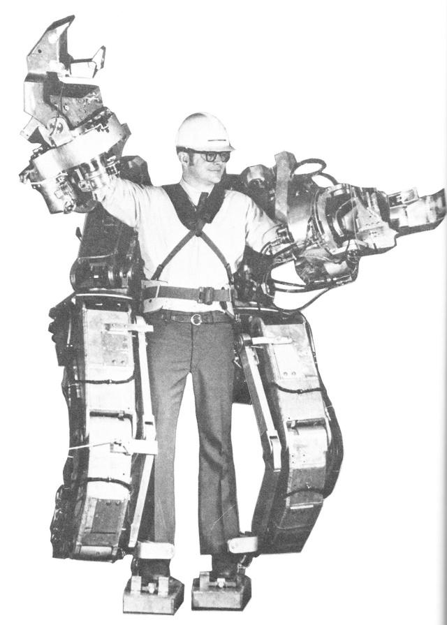 G.E. Hardiman — первый в мире экзоскелет из 60-х годов прошлого века - 1