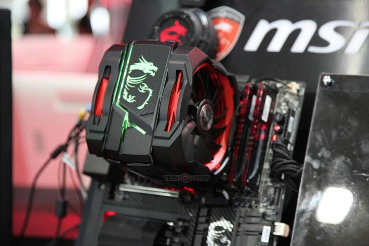 MSI может выпустить производительный кулер