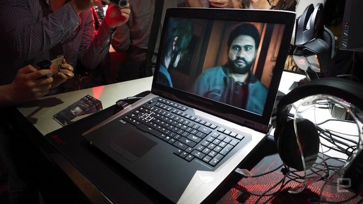 Ноутбук Asus ROG GX800 может стать самым производительным среди игровых моделей