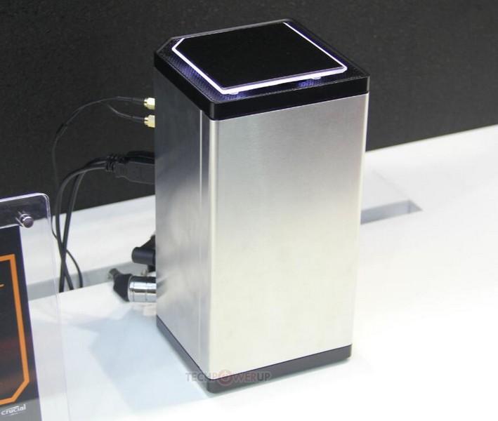 ПК Gigabyte Brix Gaming UHD помещён в корпус объёмом 2,6 л