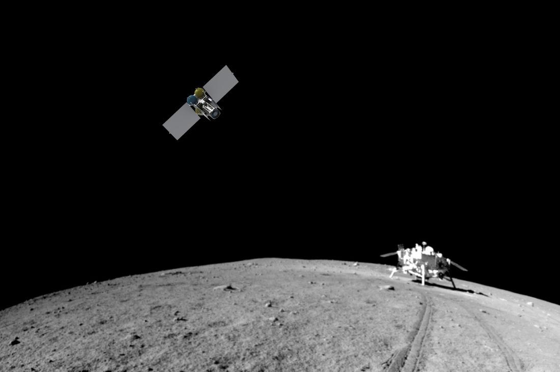Новый проектный облик лунного микроспутника - 1