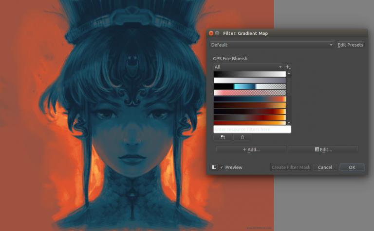 Стабильная версия редактора Krita 3.0 с поддержкой анимации - 4