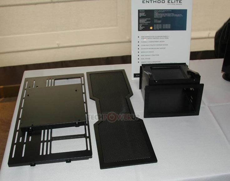 Большие размеры Enthoo Elite позволяют размещать в корпусе многочисленные компоненты