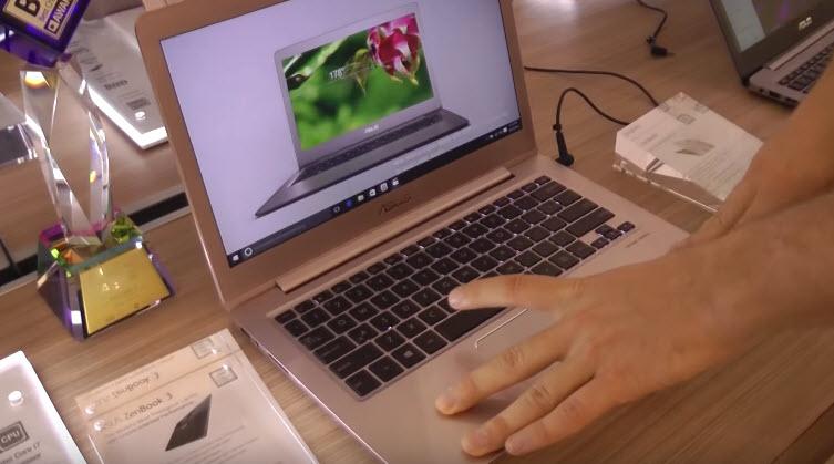 Видеопревью ноутбуков Asus ZenBook 3 и Asus Zenbook UX330 с выставки Computex 2016