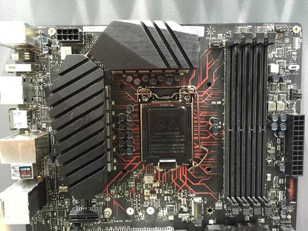 Прототип системной платы MSI на чипсете Intel Z270