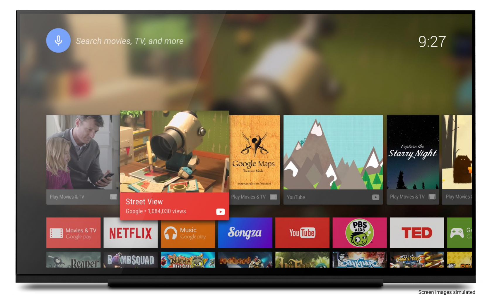 Device Lab от Google: Android TV - 1