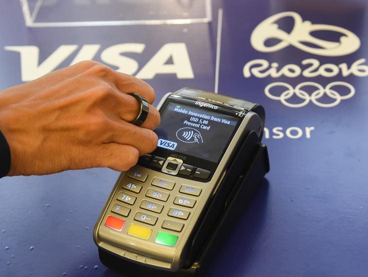 Первыми пользоваться кольцами Visa смогут спортсмены на Олимпиаде в Рио-де-Жанейро