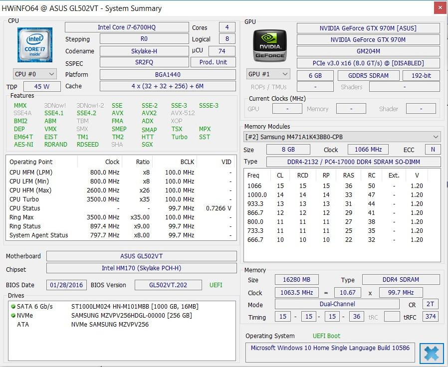 Обзор игрового ноутбука ASUS GL502VT - 31