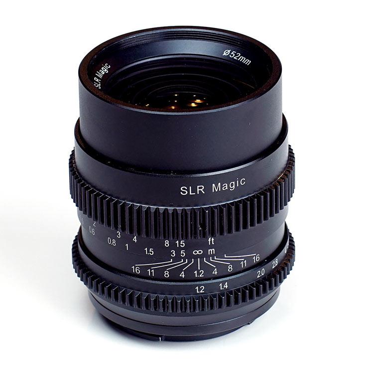 Продажи объективов SLR Magic Cine 35mm F1.2 и Cine 75mm F1.4 производитель обещает начать в августе