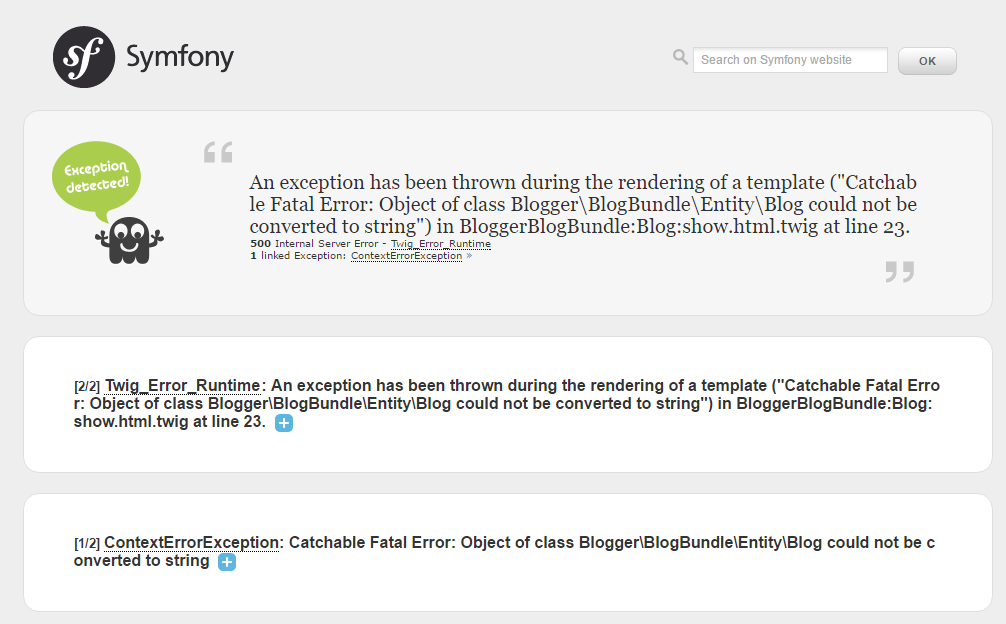 Создание блога на Symfony 2.8 lts [ Часть 4] - 4